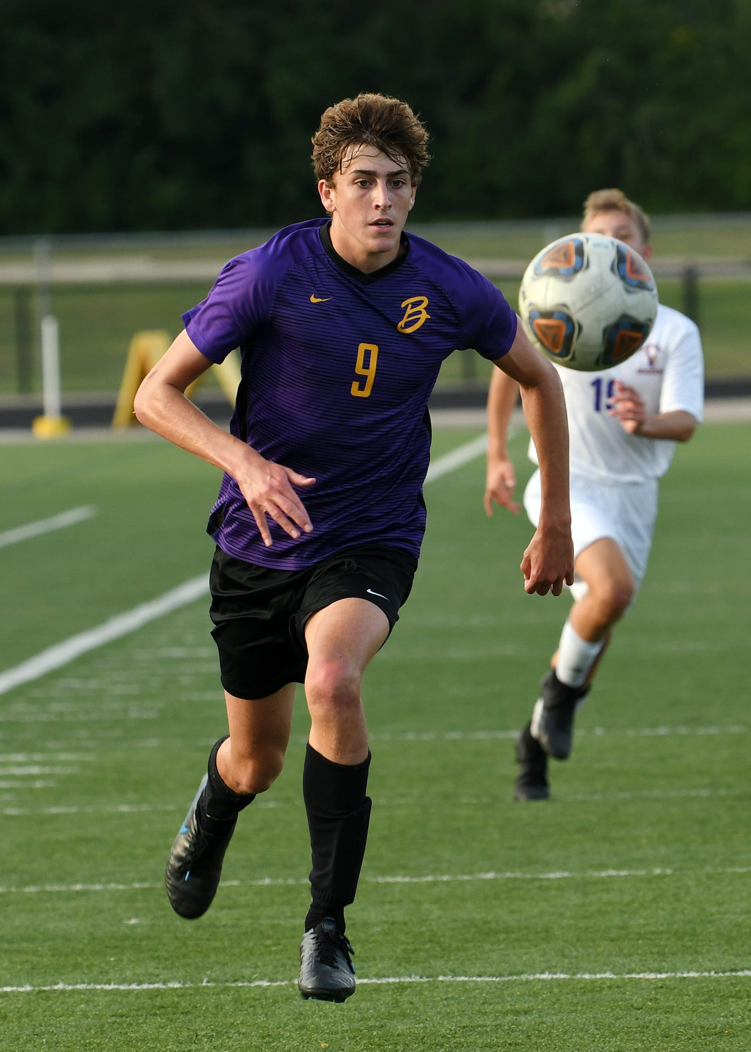 Bellbrook's Trace Terry was second in the Southwestern Buckeye League in points (66) in 2020. He was named second-team All-Ohio.