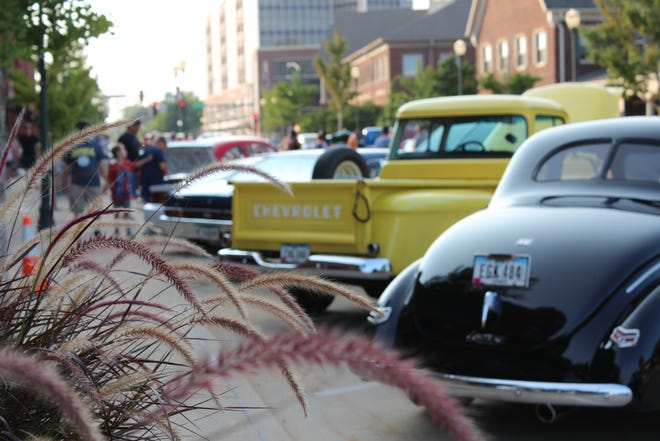 Coralville's annual 5th Street Social in 2019.