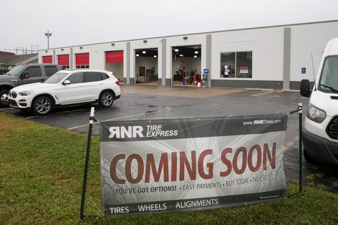 RNR Tire Express, 1500 Sagamore Parkway South, Thursday, Aug. 12, 2021 in Lafayette.