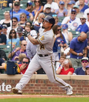Utility player Jace Peterson has been a key contributor for the Milwaukee Brewers.