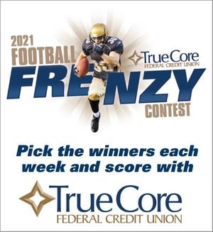 Make your picks for the 2021 football season with The Advocate and TrueCore in this year's Football Frenzy contest.