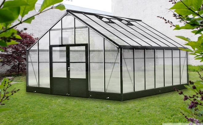 This is a concept illustration of the greenhouse to be located next to the middle school as part of the new SWL agriculture education offering. The community can help secure a grant for the greenhouse by voting online between Aug. 18-27.