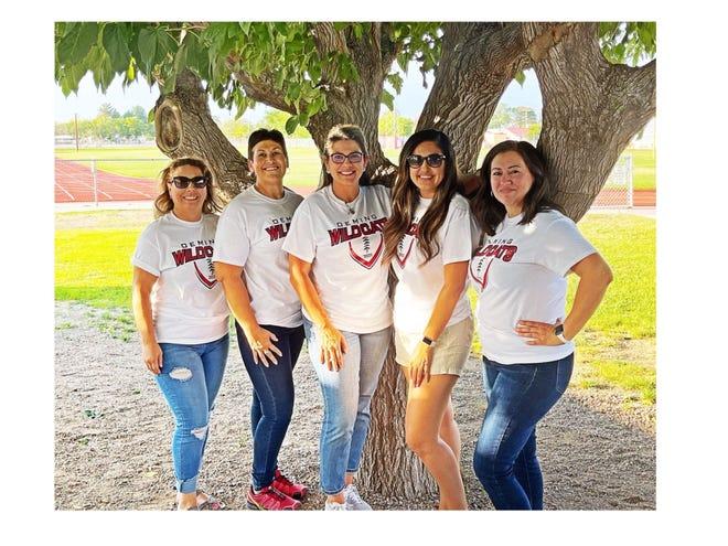 The Wildcat Football Club Board is, from left, Bertha Madrid, secretary; Sabina Hervol, co-treasurer; Melanie Alfaro, president; Jessica Baeza, vice-preisdent; and Leticia Chavez, co-treasurer.