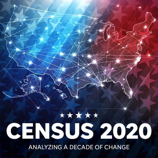 Census 2020 data was released on Aug. 12, 2021.