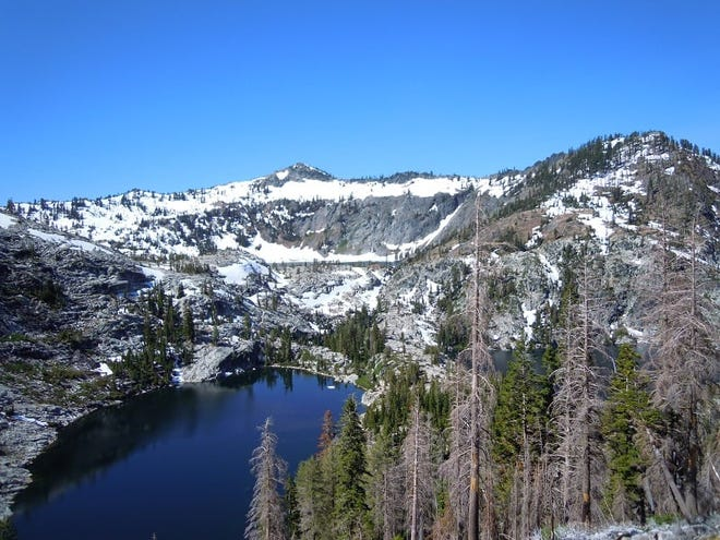 U.S. Forest Service officials announced the Trinity Alps Wilderness will be closed through Nov. 15, 2021, due to wildfire activity.