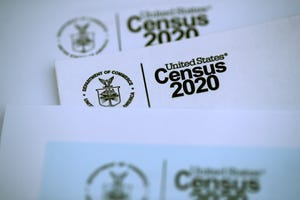The U.S. Census logo appears on census materials.