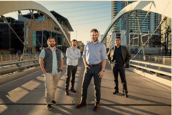 Austin-based Kronologic is looking to eliminate the headache and revolutionize sales calendars and meetings, by automating scheduling. The company was founded by Ben Park, Aaron Bollinger, Trey Allison and Chris Lee.