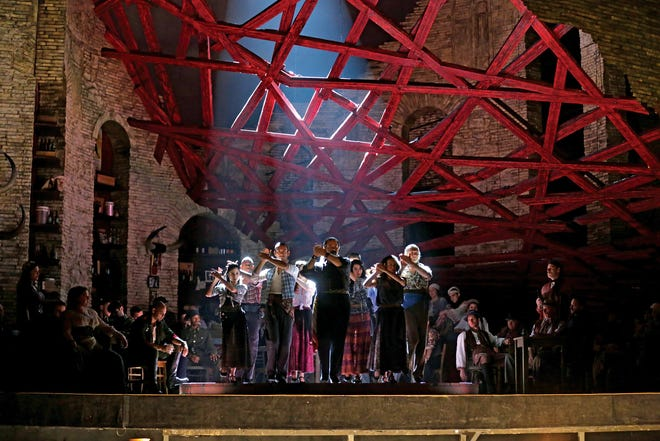"""Bizet's """"Carmen"""" to air on Saturday, August 21, meal at 10:55 a.m., show at 11:55 a.m."""