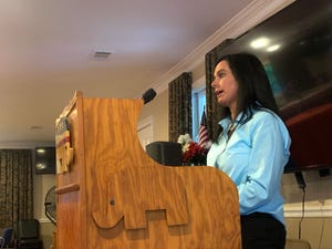 Augusta Commissioner Catherine Smith McKnight reassured her constituents during a Thursday community meeting of Republicans that she does not support paying people to get the COVID-19 vaccine.