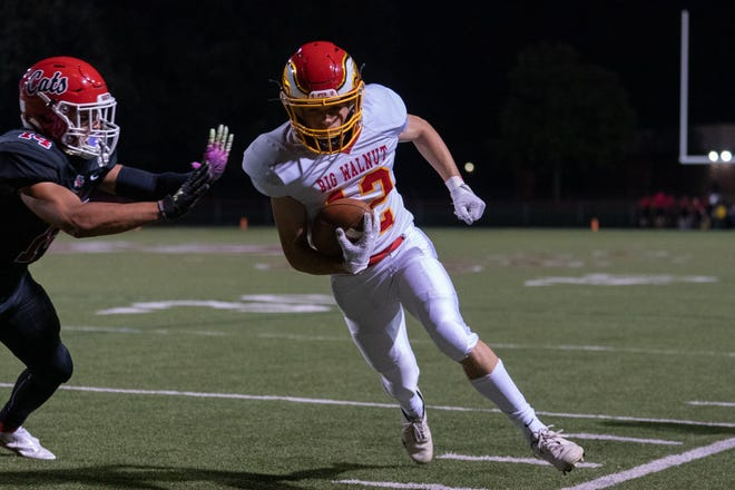 Junior Cam Gladden is one of the top returnees for Big Walnut and second-year coach Rob Page. Last season, Gladden had 34 receptions for 255 yards and two touchdowns.