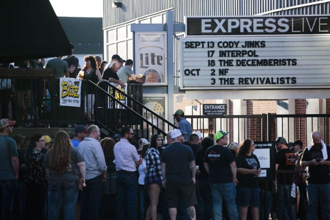 Express Live (shown in a 2018 photo) is the latest music venue to require proof of vaccination for patrons.