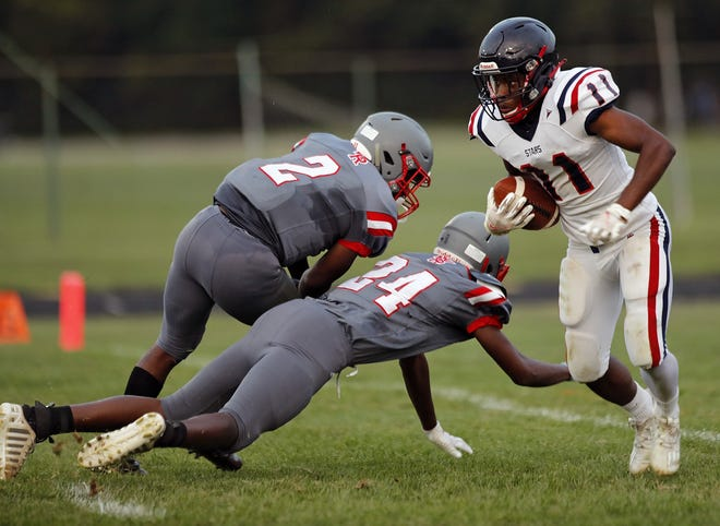 Centennial senior Alvin Forte expects to take on a bigger role this season at running back.