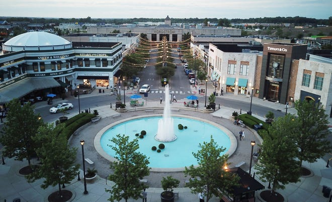 No one was injured Wednesday evening after multiple witnesses called 911 to report hearing gunfire at the Easton Town Center.