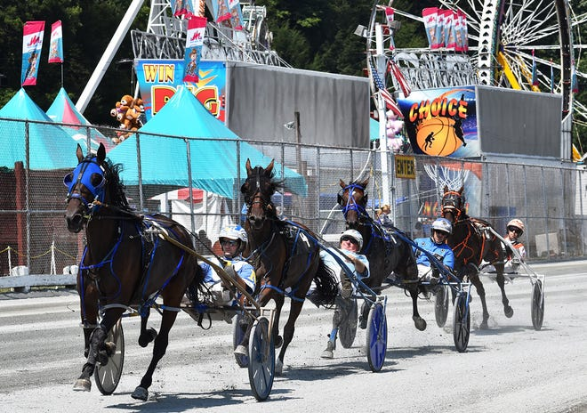 Harness racing returned to to Wayne County Fair this week. Hundreds of fans gathered in the historic wooden grandstand to enjoy two days of exciting action featuring PA Sire Stakes events for trotters and pacers.