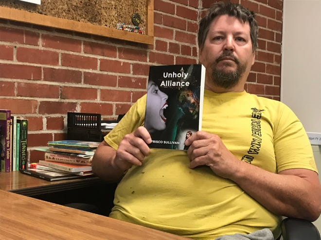 Frisco Sullivan of Newton spent his free time the last three years writing a new book, which is now published.