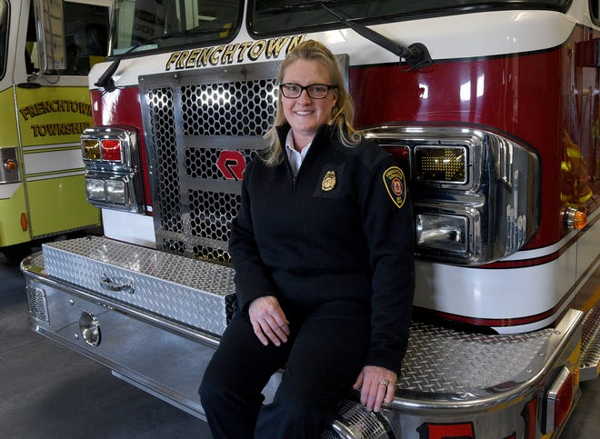Frenchtown Fire Chief Wendy Stevens