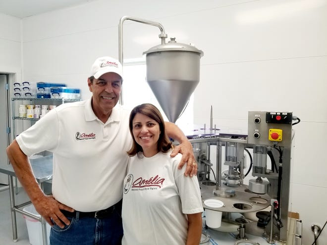 Tony Barros and his daughter, Juliana Forster, are living the dream making French-style yogurt.