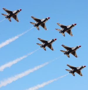 """Veterans Count Seacoast Chapter Board of Directors will hold its eighth annual fundraising event """"On The Tarmac""""  to benefit Veterans Count on the night before the 20th anniversary of Sept. 11, and on the eve of the Thunder Over New Hampshire air show. The pilots of the Thunderbirds, which are performing at the air show, will be guests of honor at the dinner."""