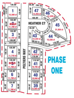 Pratt City commissioners recently approved a plan to offer lots at Sandy Creek Addition on the northern side of Pratt at a reduced rate in order to promote new home-building in city limits. The lots, owned by the city, go on sale on September 1, 2021.