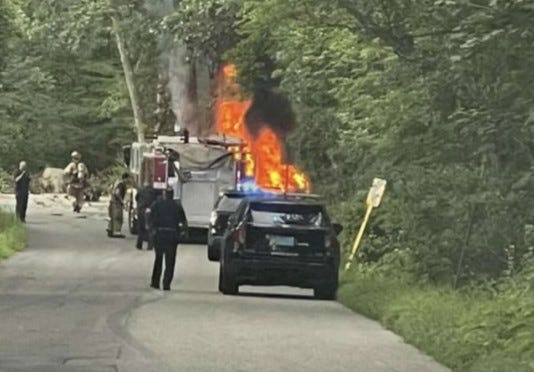 Cranston police have released the name of the driver who died last Thursday in this crash on Laten Knight Road. He was identified as Kyle M. Segee, 35, of Cooper Road, Glocester.
