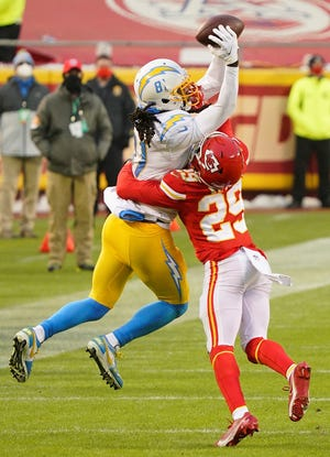 Second-year cornerback BoPete Keyes (29) is a player to watch Saturday when the Kansas City Chiefs face the San Francisco 49ers in their preseason opener.