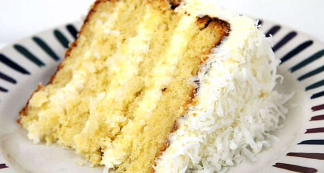 Coconut Cake From Ok Cafe
