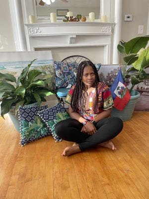 Nephtalie Faustin of Sterling is organizing the Barefoot Half Marathon set for Labor Day weekend.