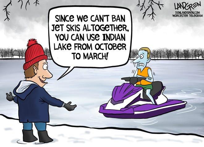 Don Landgren cartoon