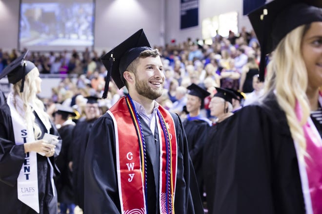 Josh Simonds graduated from the University of Arkansas-Fort Smith in 2018 and is now an Upward Bound Coordinator for UAFS. He was a first-generation college student and shared his story for the university's #First2Go celebrations.