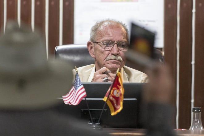 Former Adelanto Mayor Rich Kerr in October 2018.
