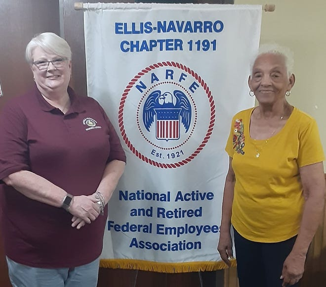 Jana Miller, Deputy Chief of the Navarro County Juvenile Probation Office, was the guest speaker at the National Active and Retired Federal Employees (NARFE) Chapter 1191 monthly meeting on Tuesday, Aug. 10.