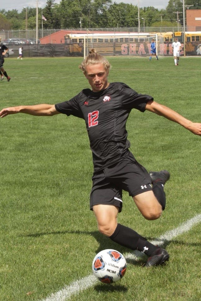 Lima Shawnee's Jacob Miller was first-team All-Ohio in Division II after scoring 24 goals with nine assists.