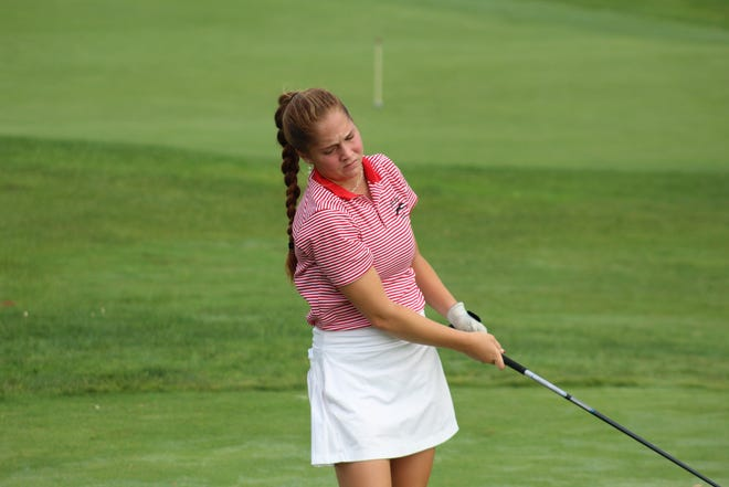 Shelby's Nicole Jones won the Division II district title with a 74 and qualified for state for the fourth time in her career.
