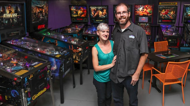Owner Becky Cooper and husband Ryan Clancy started Bounce Milwaukee in 2014.