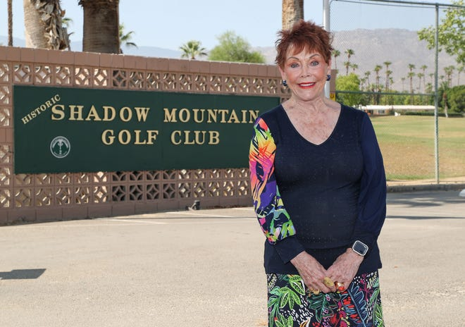 Lindi Biggi is the new owner of the Shadow Mountain Golf Club in Palm Desert, Friday, August 13, 2021.