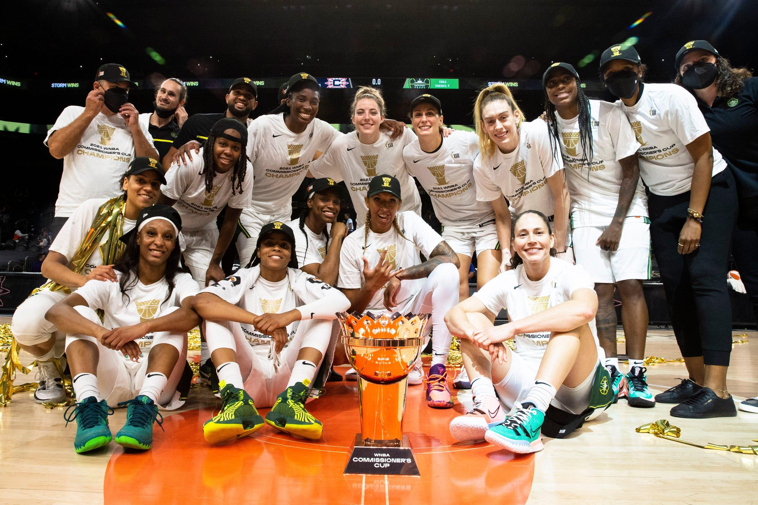 Photos: WNBA Commissioner's Cup