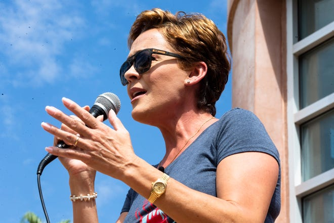 Republican gubernatorial candidate Kari Lake