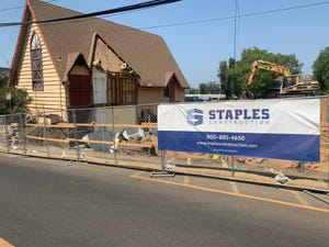 Manna Conejo Valley Food Bank is building a new facility at a former church at 95 N. Oakview Drive in Thousand Oaks.