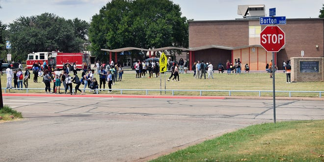 Wichita Falls Police said a 15-year-old boy has been arrested in connection with a rash of bomb threats at local schools.
