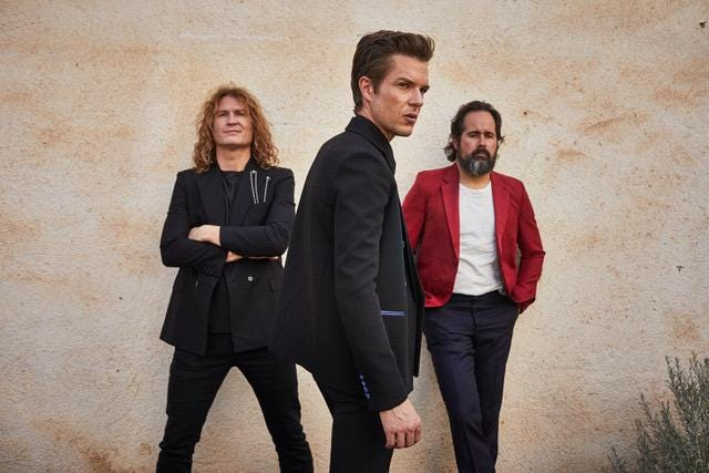 The Killers were scheduled to play Sept. 30 at Bell Auditorium with a requirement that concertgoers provide proof of COVID vaccination and a negative COVID test. The event has been cancelled.