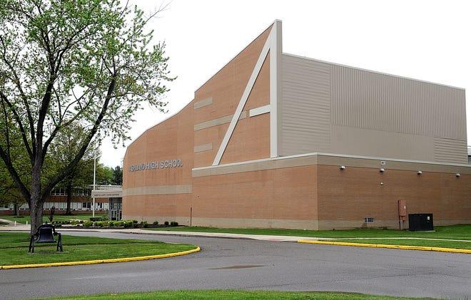 Ashland High School is seen here Friday, May 22, 2020. Tom E. Puskar, Times-Gazette.com