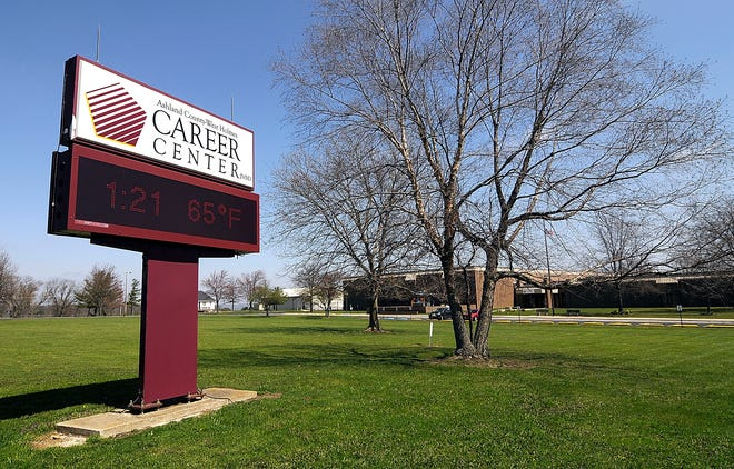 The Ashland County-West Holmes Career Center is seen here Wednesday, April 8, 2020.  Tom E. Puskar, Times-Gazette