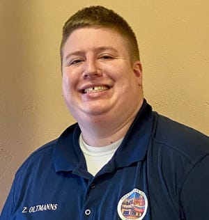 Zach Oltmanns is an Ogle County Board member and small business owner.