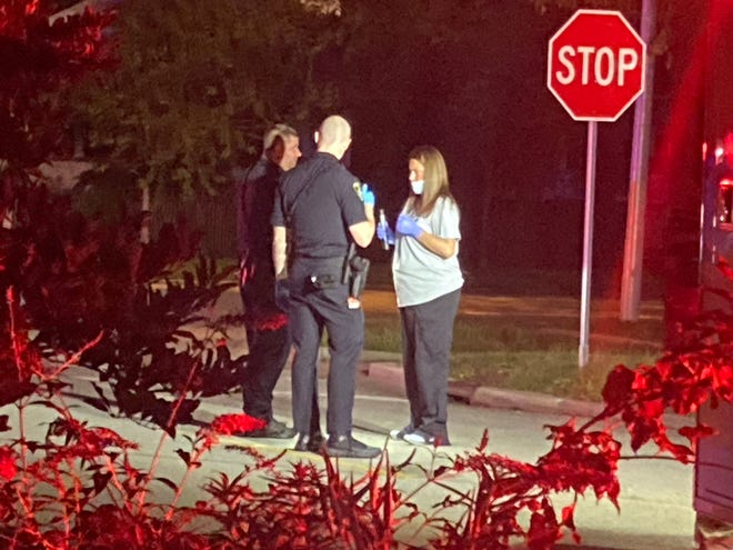 Springfield Police were called to a hit-and-run incident in the 1000 block of West Fayette Avenue in Springfield just before 9 p.m. Friday.