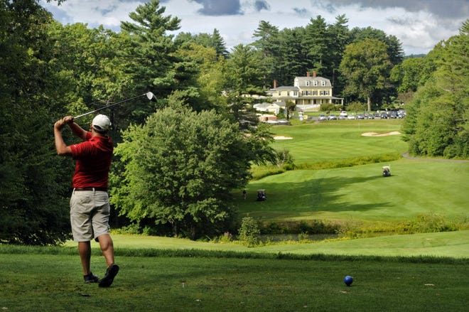 It was at Stow Acres CC where a Central Mass. junior golf team recently qualified for the Northeast Regionals.