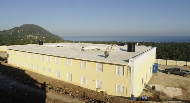 The orphanage in Grand-Goâve, Haiti, built by the Gengel family of Rutland in honor of their late daughter, Britney, in 2013.
