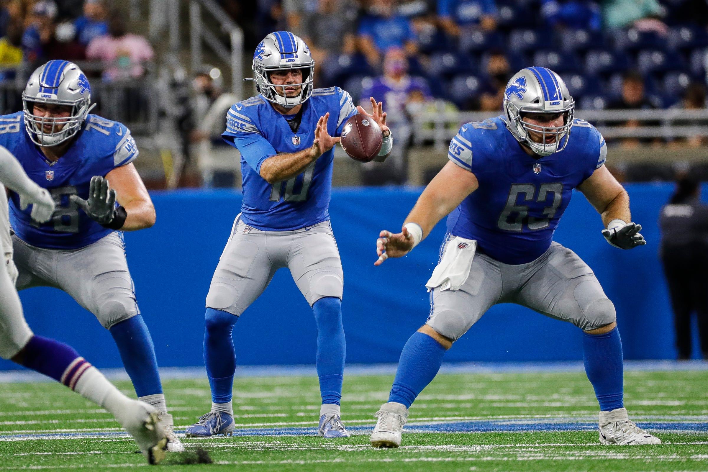 Detroit Lions turn to NFL journeyman Evan Brown to replace Pro Bowl C Frank Ragnow