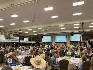 About 500 people gathered in Great Falls on Saturday to celebrate the newest Montana Cowboy Hall of Fame inductees.