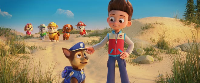 """The pups are back on the case in """"PAW Patrol: The Movie."""""""