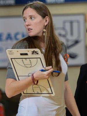 A former University of North Carolina player, Meghan Austin has been named the new Mary Baldwin University women's basketball coach.